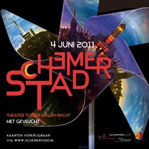 Affiche van Schemerstad 2011