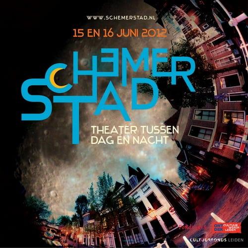 Affiche van Schemerstad 2012
